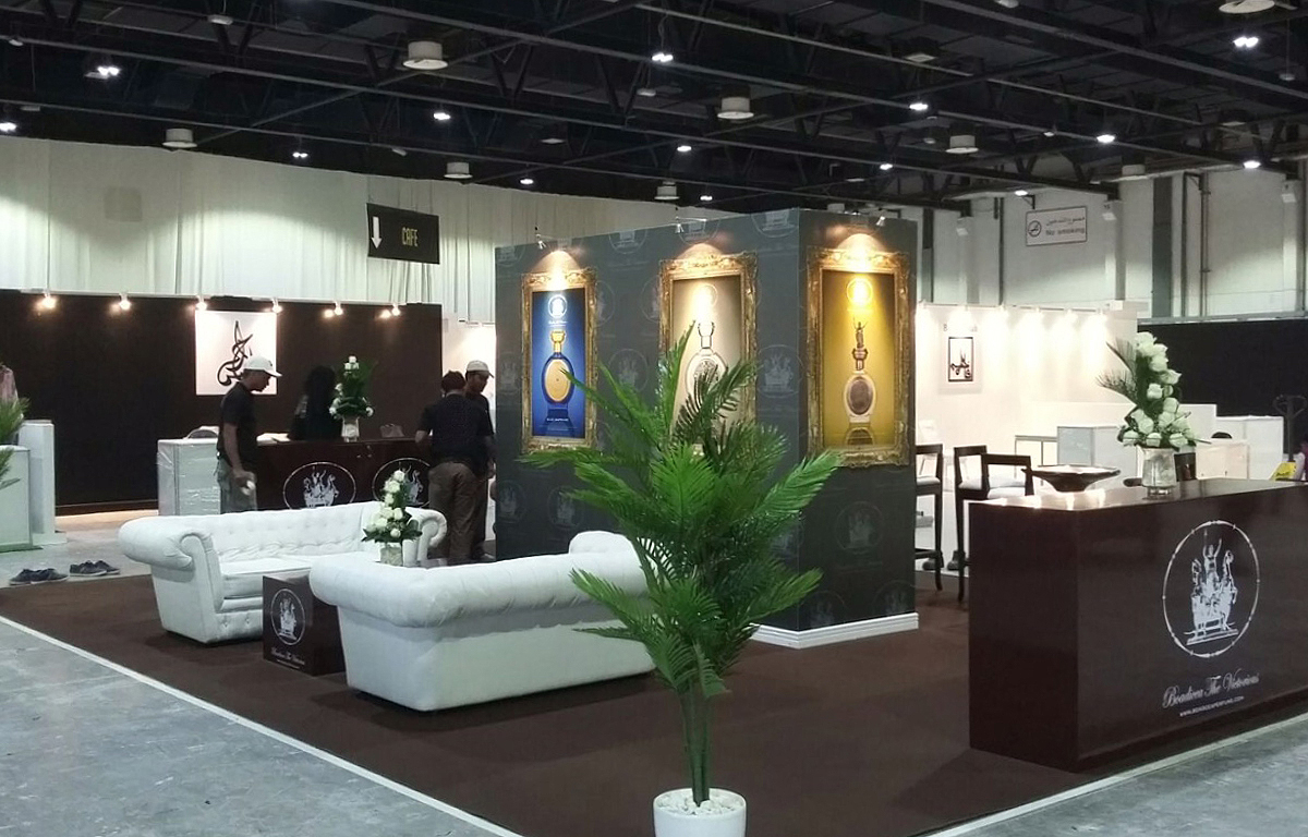 Exhibition Stand Builders In Abu Dhabi : Boadicea abu dhabi custom creative