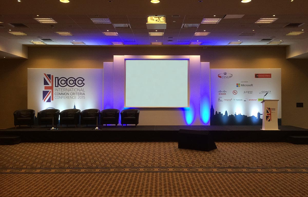 ICCC Conference stage set (2)
