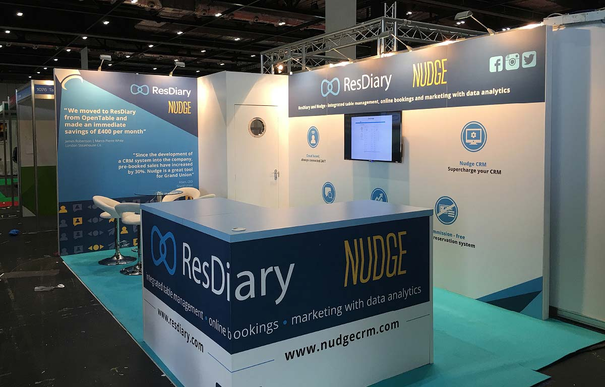 RES Diary at the Restaurant Tech Show 2016